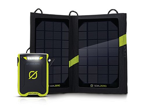 Goal Zero Venture 30 Solar Recharging Kit with Nomad 7 Solar Panel by Goal Zero
