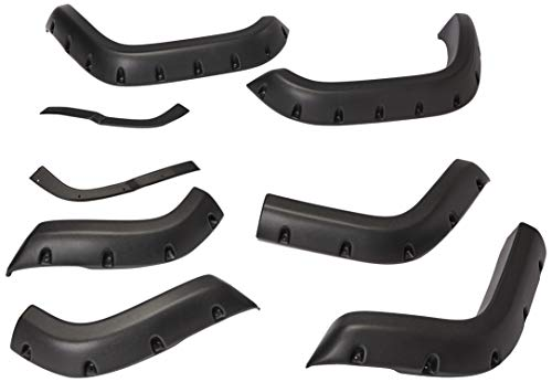 Bushwacker 10911-07 Jeep Cut-Out Fender Flare - Set of 4