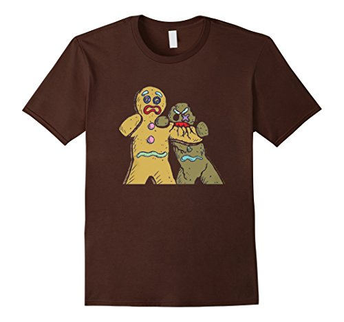 Gingerbread Zombies Ugly Christmas Tee