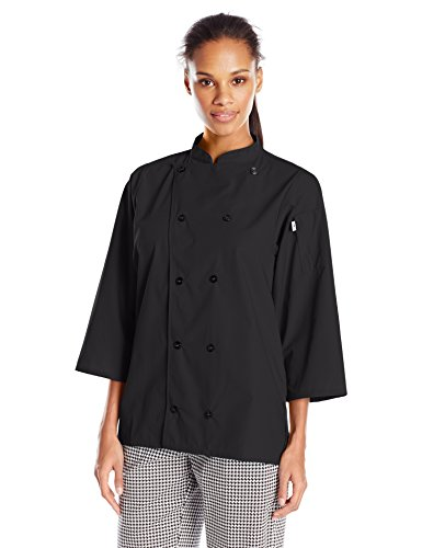 chef black jacket 3 4 - 4