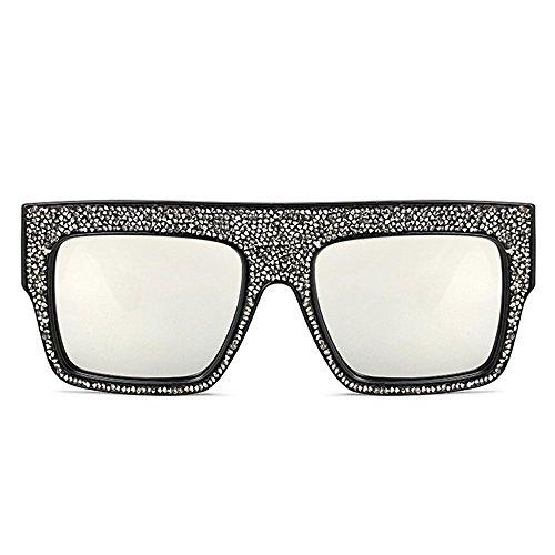 lujo Rhinestone Cool Marco grande Sunglasses Tide de C5 EtqRq4