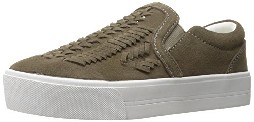 Marc Fisher Women's Dexie Sneaker, Taupe, 6 Medium US