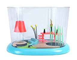 FantaSeas Retro Townhouse 1.6 Gallon Fish Bowl