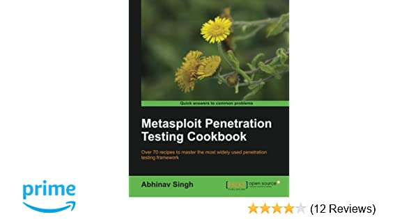 Metasploit Penetration Testing Cookbook Second Edition Pdf