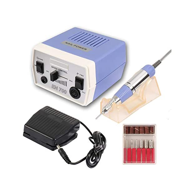 Dr.Nail Professional Nail Drill 30000RPM Electric Nail Machine for Acrylic Nail Drills Nail Art Manicure Grinder Machine Gel Nails Polisher Nail File 1