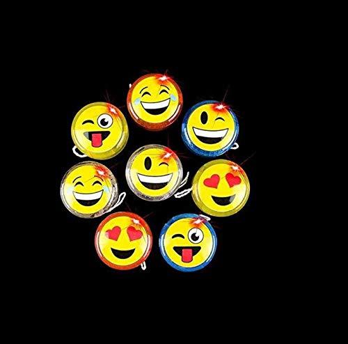 12 pack – Emoji | Emoticon Light-Up