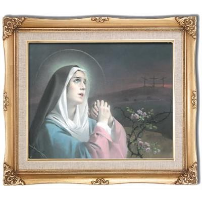 Our Lady of Sorrows Framed Art by Discount Catholic Store