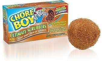 Chore Boy Copper Scouring 4 pack of 2 pads by Chore Boy
