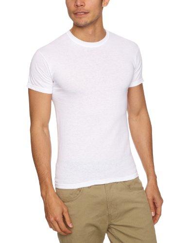 Fruit of the Loom Herren T-Shirt 5 er PackRegular Fit 11182V, Gr. 52/54 (L), Weiß (30 weiss)