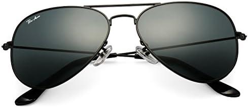 Pro Acme Classic Aviator Sunglasses for Men Women 100% Real Glass Lens