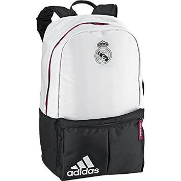 adidas Rucksack Real Madrid Mochila, Hombre, Negro/Blanco, Talla Única: Amazon.es: Deportes y aire libre