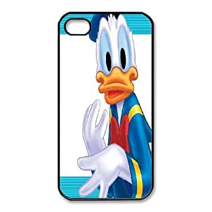 iphone4 4s Phone Case Black Donald Duck WQ5RT7447832