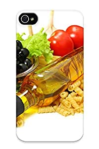 Summerlemond Case Cover Fruits Food Pasta Tomatoesolives Leuce / Fashionable Case For Iphone 4/4s