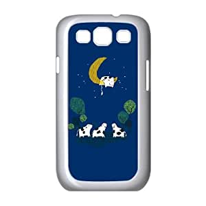Samsung Galaxy S3 9300 Cell Phone Case White A cow jump over the moon Jdws