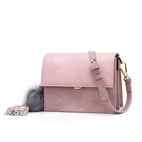 Bolso Matorral Kervinfendriyun Vintage color Colour Con Bandolera Yy4 Mochila Fiesta De Pink Femenino Primavera Caramel RqAUwR8