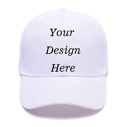 f15eaa4d Custom You Personalized Baseball Cap Unisex Dad Trucker Hat Adjustable  Sports Hats