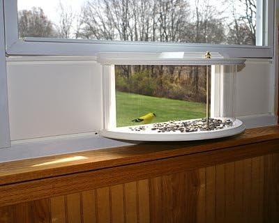 Bestnest Clearview Window Bird Feeder Garden Outdoor