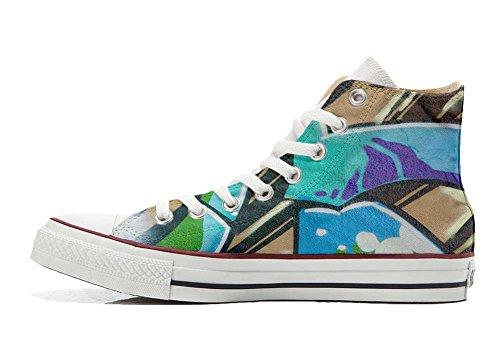 Your Shoes artisanal produit Graffiti Converse Sneaker Italien Hi et coutume chaussures Make All Imprimés Star Personnalisé Unisex dgqd5B