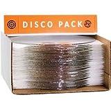 Bullseye Disco 20 Piece Pack 12'' Clear Cirlces - 90 Coe