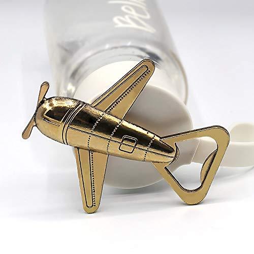 Amazon.com: Boda favor Airplane Abridor de botellas Set de ...