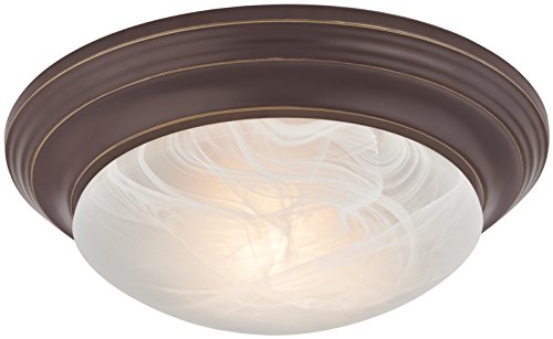 Boston Harbor 563118VB Ceiling Fixture A19/CFL 75/18 W 1 Lamp