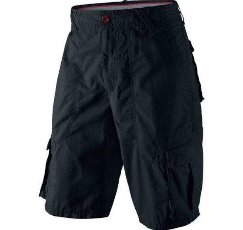 a18abd558ca74c Amazon.com  Nike Men s Air Jordan 3-Point Cargo Shorts Black 465022 ...