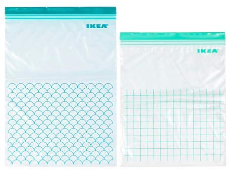 Ikea Storage Plastic Bags (Light Turquoise) – Pack of 30 Price & Reviews