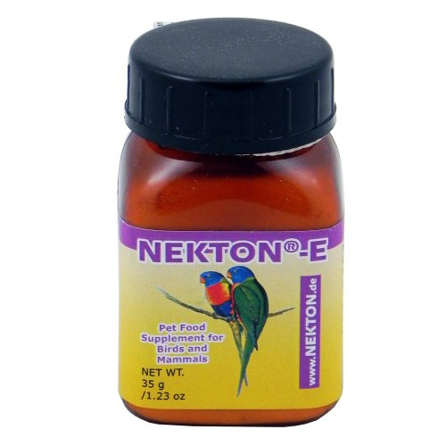 Nekton-E Vitamin E Supplement for Birds, 35gm - Awesome ...