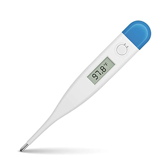 Green 1PC in Stock Digital Body Thermometer,Oral Underarm Temperature Thermometer Fast Read Temperature Meter for Baby,Adults or Kids