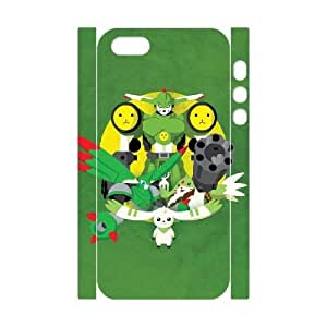 Hjqi - DIY Digimon 3D Phone Case, Digimon Personalized Case for iPhone 5,5G,5S