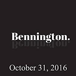 Bennington, Kevin McDonald, October 31, 2016