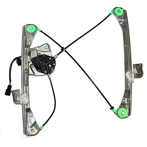Alero Power Olds Window - VIOJI 1pc Front Driver Left FL LH Side Power Glass Window Regulator with Motor for 99-04 Olds Alero 2 Door Coupe & 99-05 Pontiac Grand Am 2 Door Coupe