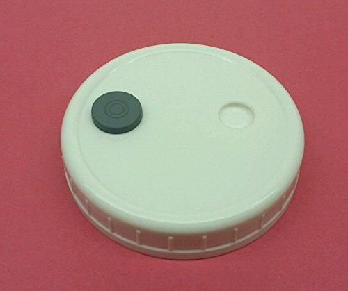 10 Grain Spawn Master Jar Lids Autoclavable Wide Mouth Mushroom Injection Culture
