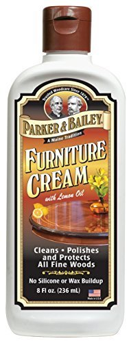 Parker & Bailey Furniture Cream with Lemon Oil 8oz by Parker