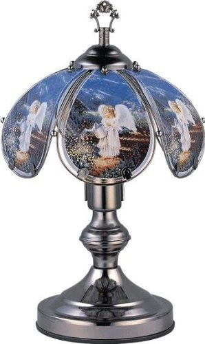 OK LIGHITNG OK-603C-AN4-SP3 14.25 in. Angel Touch Lamp