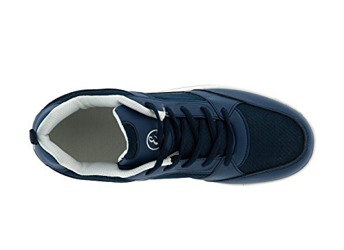 RASSODA Nylon Mesh Benessere Fitness EGLEMTEK BASCULANTI Sportive TM Dimagranti Glutei Mod Scarpe Blu Navy 1q6nxOw75