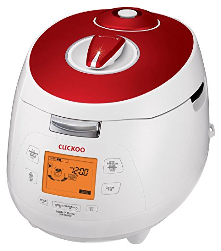 Cheap Cuckoo Electric Heating Pressure Rice Cooker CRP-M1059F (Red)