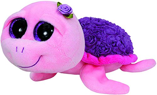 Peek A-boo Turtle (TY Beanie Boo Plush - Rosie the Pink Turtle)