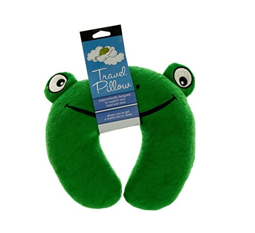 Frog Terry (Kole OF003 Terry Frog Travel Pillow)