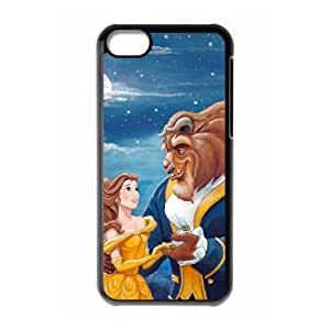 iPhone 5c Cell Phone Case Black Disneys Beauty and the Beast ixm