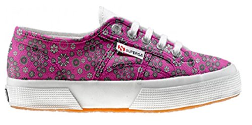 Superga Chaussures Coutume (ARTISAN SHOE)Hot Pink Paysley