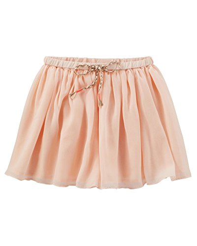 OshKosh B'Gosh Big Girls' Sparkle Chiffon Skirt, 14 Kids -