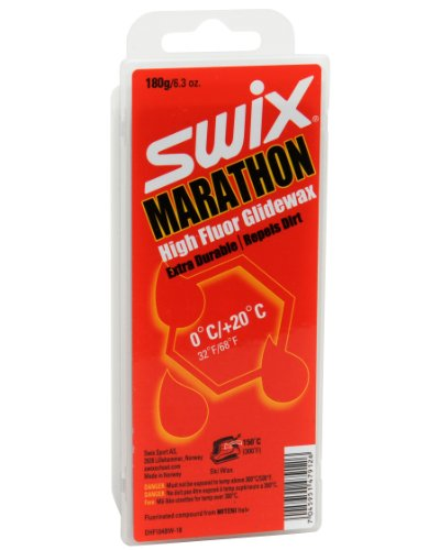 Swix DHF 104BW-18 Cera F Marathon 'Dirty Harry' High Performance First Layer Wax, Grey, 180gm by Swix