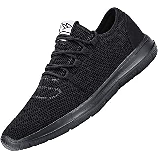 KEEZMZ Men's Running Shoes Fashion Breathable Sneakers Mesh Soft Sole Casual Athletic Lightweight How Often To Replace Running Shoes]