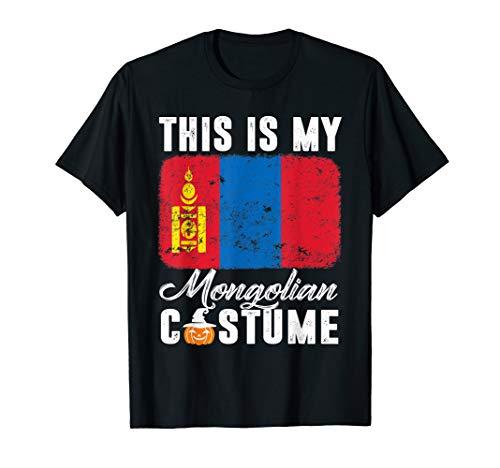 Mongolia Flag Tshirt This Is My Mongolian