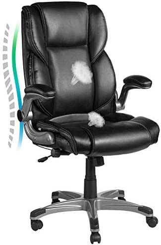 VANSPACE Leather Executive Office Chair EC02
