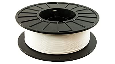 3D Fuel Pro PLA High Heat Professional 3D Filament Made in USA (Snow White, 1.75mm 1Kg)
