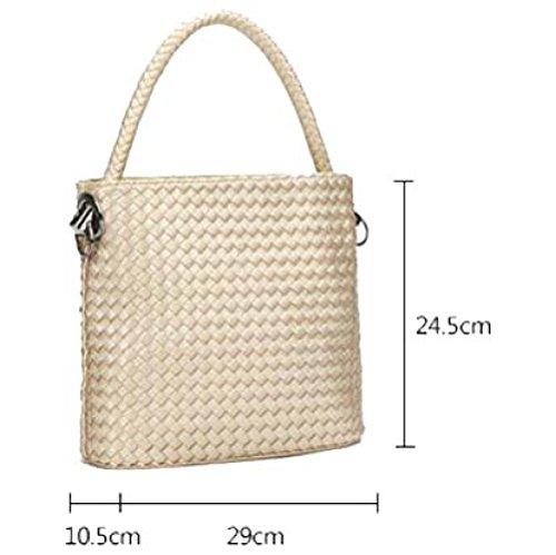 Tessuto Da Cubo Borsa Versione La Coreana Della E Donna L'estate Messenger Di Modo Primavera F Spalla 1qF1Xr