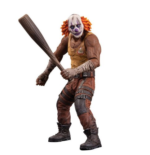 City Action Series - DC Collectibles Batman: Arkham City: Series 3 Clown Thug with Bat Action Figure