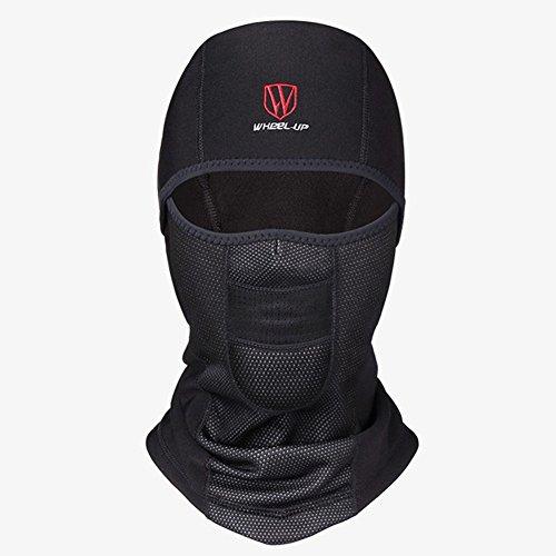 angelicaap motocicleta cara máscara sombrero cuello casco de invierno Unisex gorro impermeable resistente al viento Beanies...